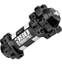 Agy DT Swiss 350 Straightpull első disc 6 csavaros 100x5mm 28h fekete