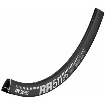 Abroncs DT Swiss RR 511 Road Disc 24h fekete