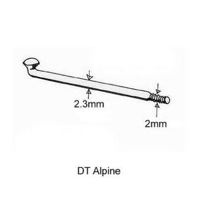 Küllő DT Swiss Alpine 2.34/2.0x304 ezüst