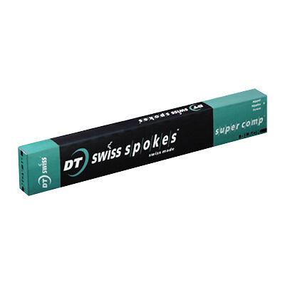 Küllő DT Swiss Super Comp 2.0/1.7/1.8x266 fekete küllőanyával