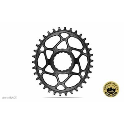 Lánckerék MTB OVAL RaceFace Cinch DM N/W  BOOST 148  fekete (3mm offset) 34T