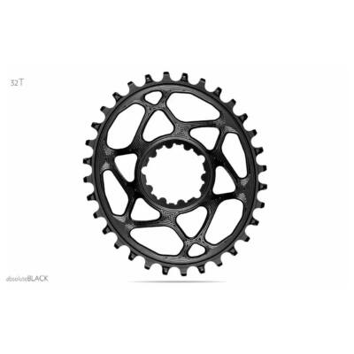 Lánckerék MTB OVAL SRAM Direct Mount/GXP N/W  fekete (6mm offset) 34T